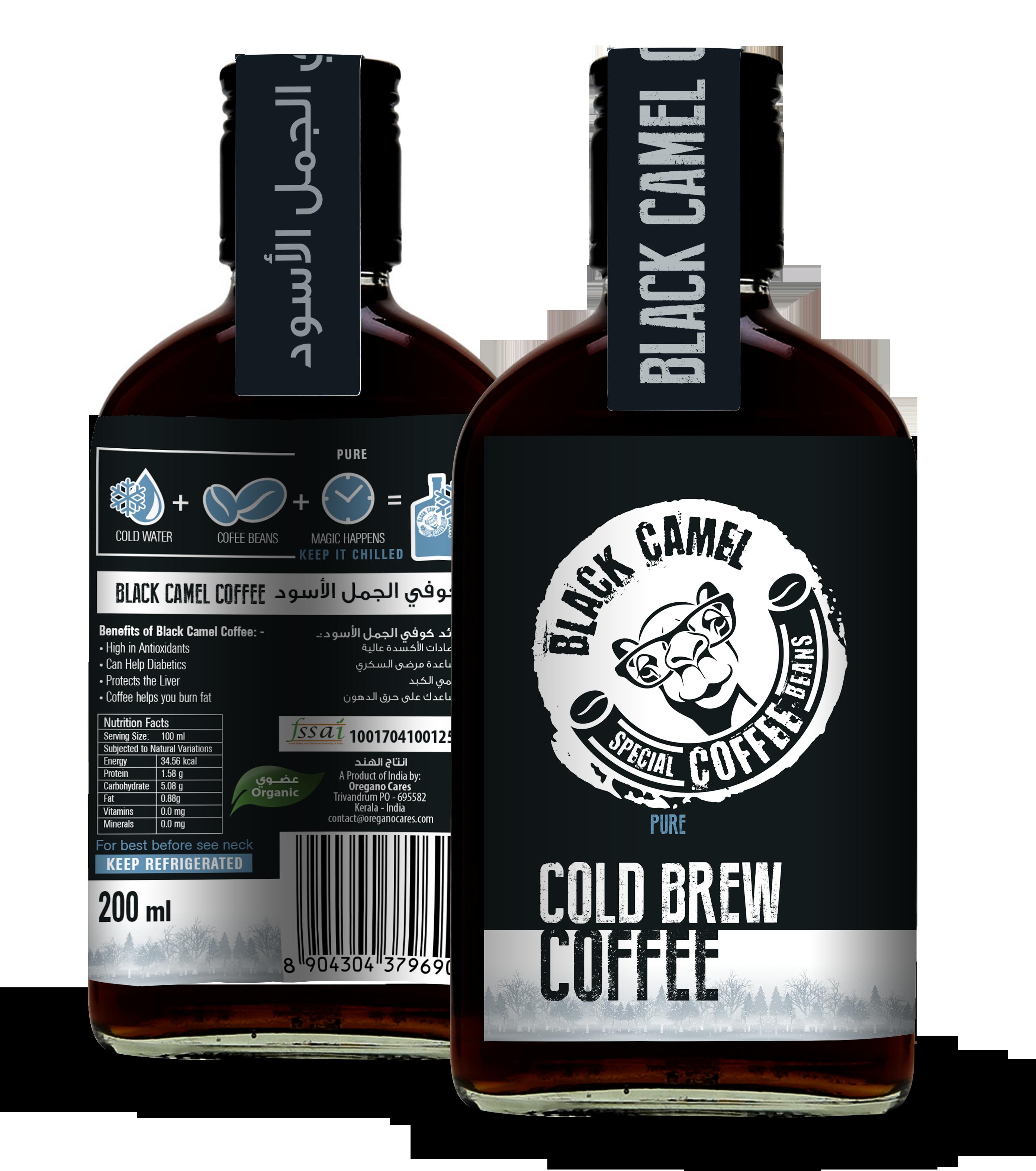 black-camel-coffee-bottle